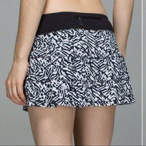 Lululemon Size 2 XXS Skort Rare Pattern